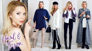 HAUL AND TRY ON | January 2018 | Nastygal, affordable fashion!