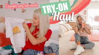 Back to School Try-on Haul (I bought way too much lol)