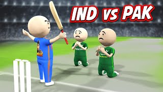 3D ANIM COMEDY - CRICKET INDIA VS PAKISTAN 2020 || LAST OVER || BEST OF DHONI MOMENTS