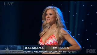 Miss USA 2016 - Swimsuit Competition [HD]