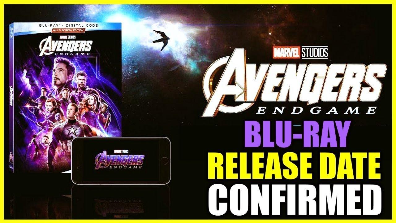 Endgame Bluray Release