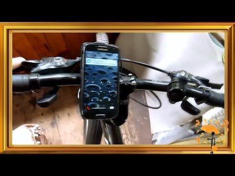 Держатель для телефона на велосипед своими руками
