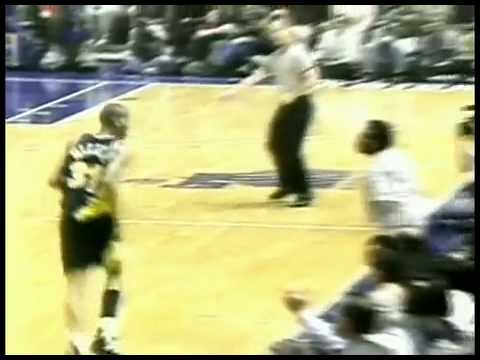 4a454348ccd92 Reggie Miller Spike Lee - YouTube