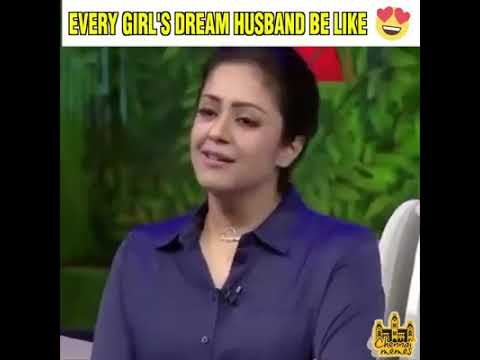 Actress jyothika about Surya. Must watch.