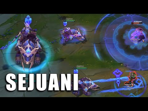 Sejuani Hextech - League of Legends (Prévia)