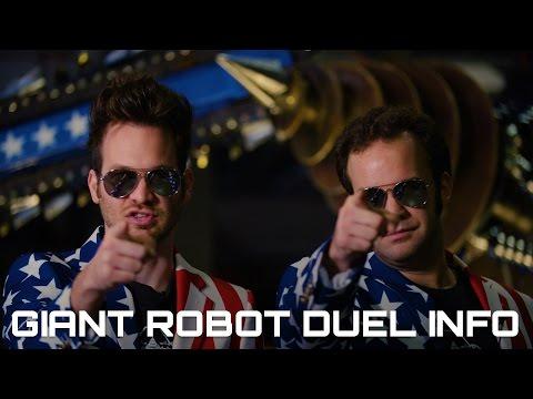 GIANT ROBOT DUEL DETAILS