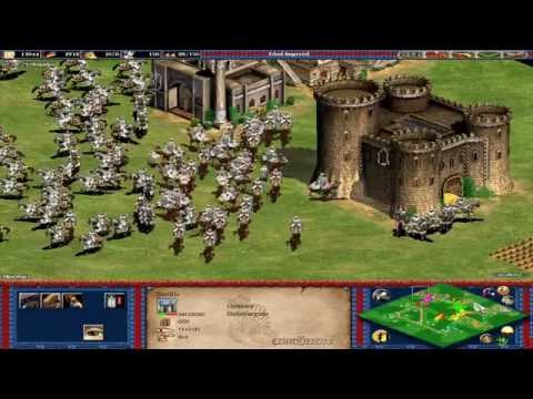 Age Of Empires II: The Conquerors | MOMENTOS DE TENSION | Partida Multijugador