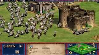 Age Of Empires II: The Conquerors   MOMENTOS DE TENSION   Partida Multijugador