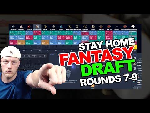 LIVE: 2020 Dynasty Draft (Super Flex PPR) - Rounds 7-9