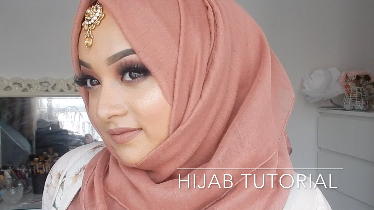 Eid hijab tutorial 2018∥afsana rakhi youtube.