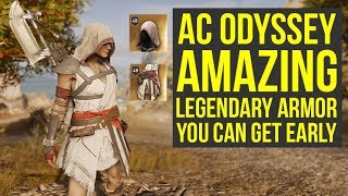 Assassin's Creed Odyssey Best Armor GET SOME PIECES EARLY - Pelgrim's Armor (AC Odyssey Best Armor)