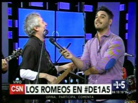 C5N - Musica en vivo: Los Romeos en De1a5
