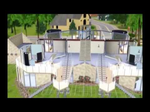 The Sims Cool House Design Octiview YouTube - Cool sims 3 houses