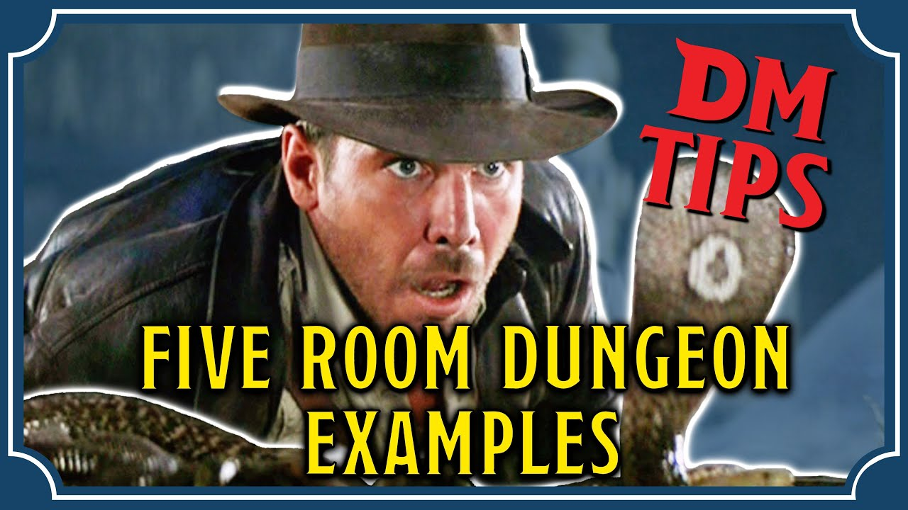5 Room Dungeon Examples Dm Tips Youtube