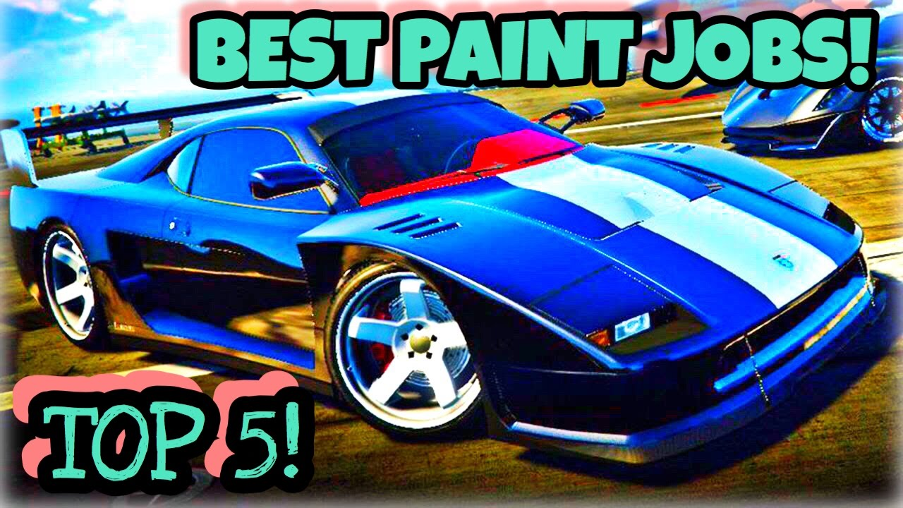 TOP 5 BEST PAINT JOBS FOR THE NEW TURISMO CLASSIC! ( GTA 5 ...