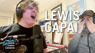 LEWIS CAPALDI - BEFORE YOU GO (Acoustic version) (REACTION)