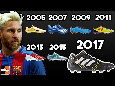 Thumbnail: Leo Messi's New Boots & EVERY Cleat He Has Worn Ever!!