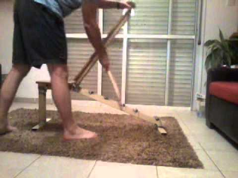 Homemade Adjule Workout Bench
