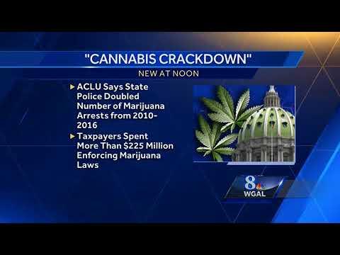 PA ACLU calls for legalization of marijuana