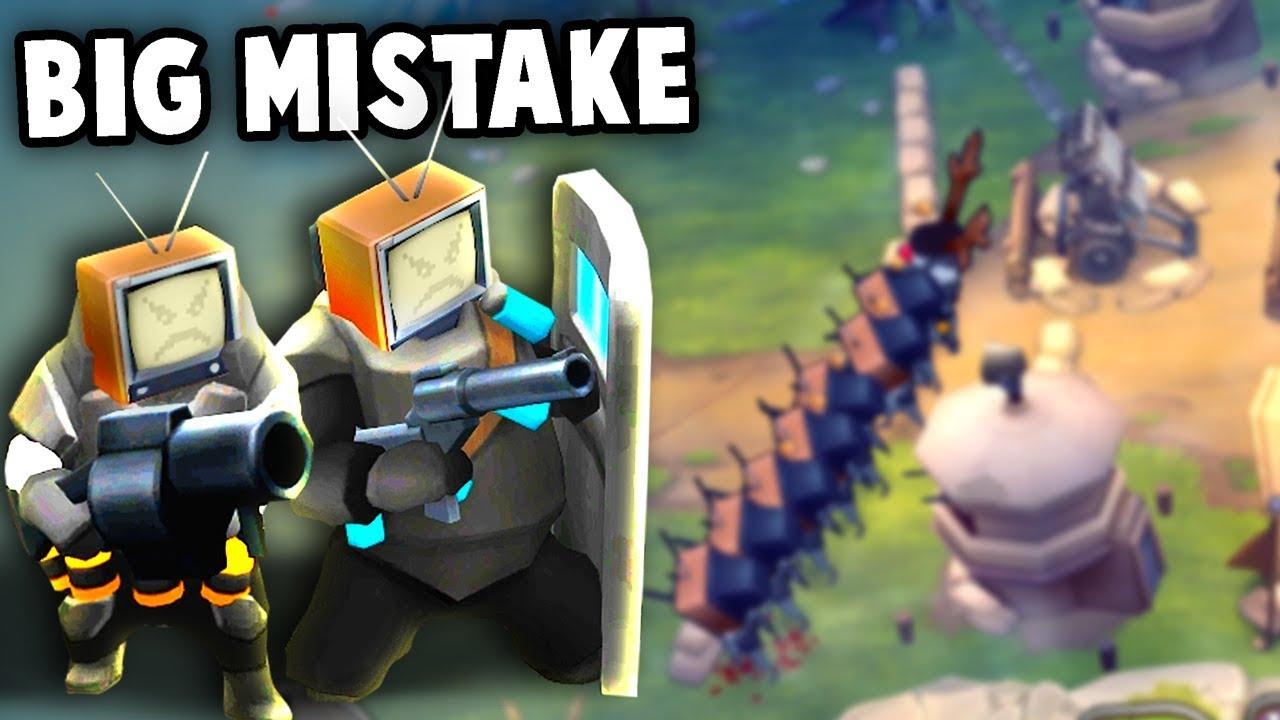 We Made a BIG MISTAKE!  (Guns Up! Multiplayer Gameplay)