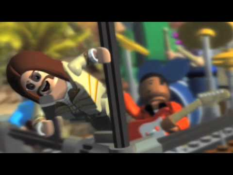LEGO Rock Band - Exclusive Epic Tour Launch Trailer | HD