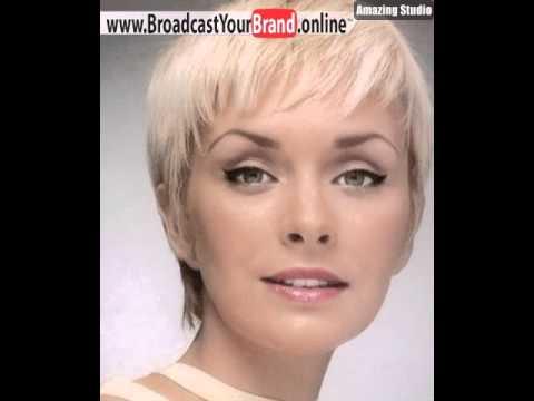 Rundes Gesicht Pixie Cut Youtube