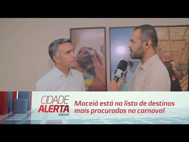 Maceió está na lista de destinos mais procurados no carnaval