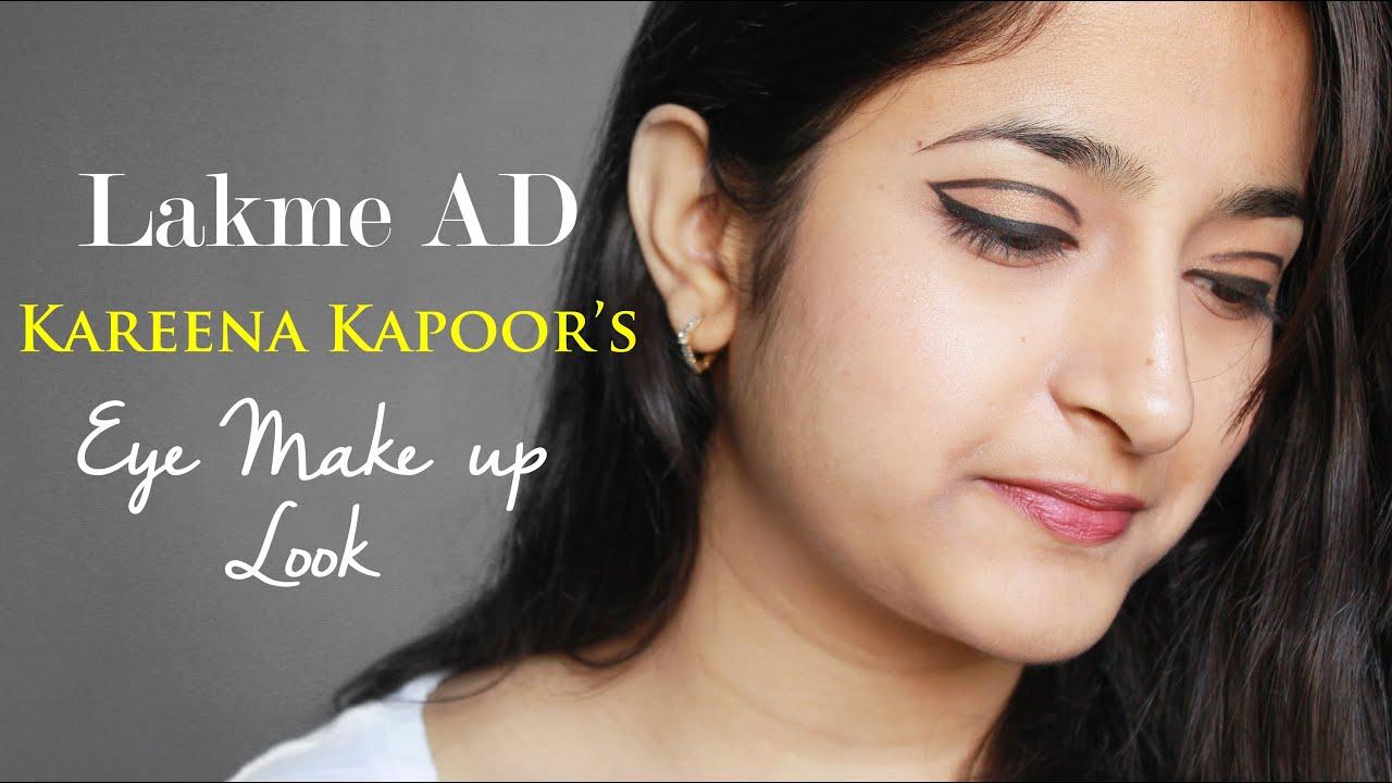 Kareena Kapoor Eye Makeup Look from New Lakme Ad #OFT2D ...