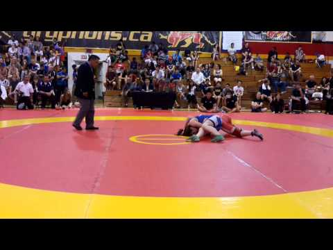 2014 Canada Cup: 60 kg Final Alexa Momy (CAN) vs. Cholena Horne (CAN)