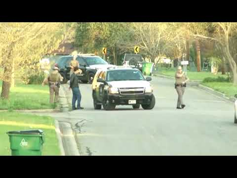 Police activity in bombing suspect neighborhood Wednesday morning