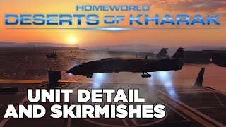 Skirmish & Unit Detail Gameplay - Homeworld: Deserts of Kharak