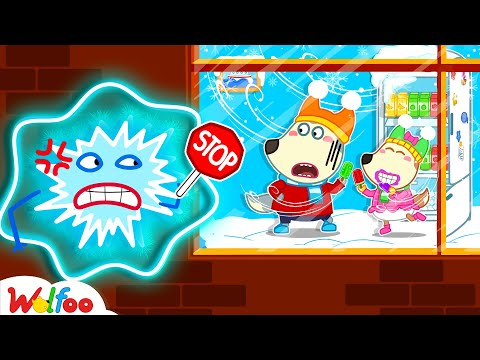Stop, Wolfoo! Don't Waste Energy - Yes Yes Save the Earth - Learn Kids Good Habits | Wolfoo Channel