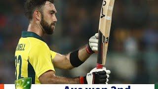 Ind vs Aus 2nd T20 2019 highlights in English | Virat Dhoni Maxwell batting