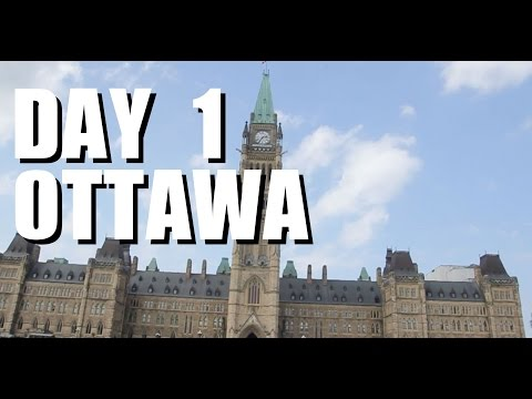 Ottawa and Montreal three day trip | Day One | Ottawa Parliament Hill