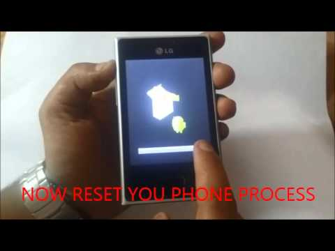 HOW TO HARD RESET(PATTERN REMOVED)LG L3 (E400)