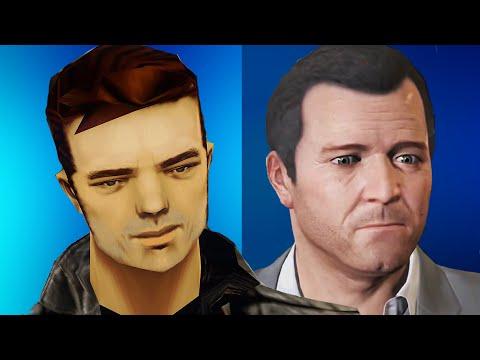 Evolution Of Graphics : Grand Theft Auto