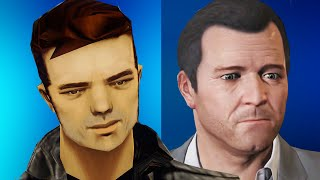 Evolution of Graphics : Grand Theft Auto