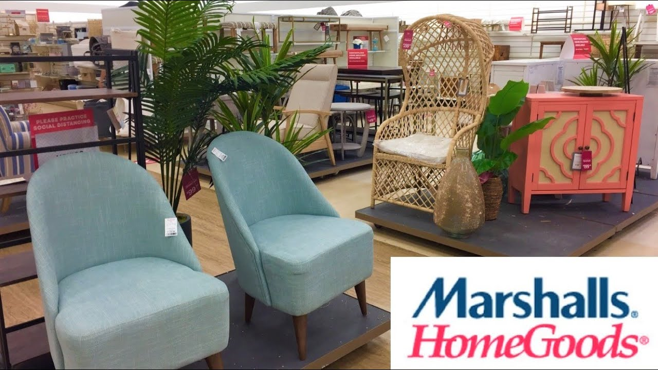 Marshalls Homegoods Furniture Armchairs Chairs Home Decor Shop With Me Shopping Store Walk Through Youtube