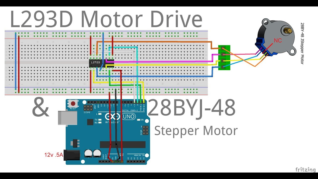28BYJ-48 5v Stepper Motor — How Many RPM Can I Spin This Thing?