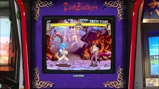 Darkstalkers - Realistic Arcade Overlay Collection for Retroarch