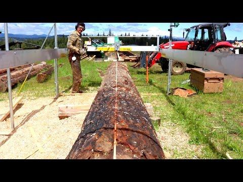 Biggest Log I've Milled