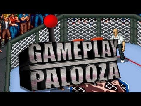 Gameplay Palooza - Sega Saturn - Fire ProWrestling S: 6 Men Scramble Gameplay