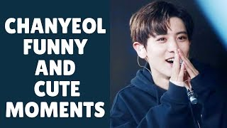 EXO  (엑소) CHANYEOL Funny And Cute Moments