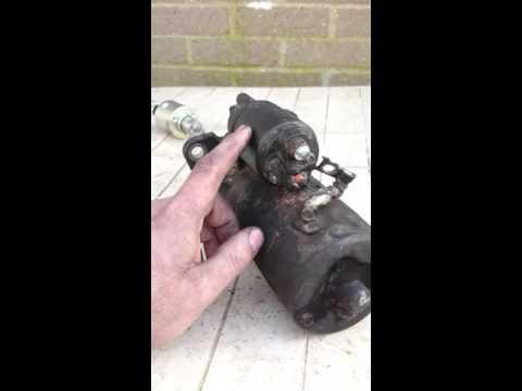 Fix a starter motor yourself cheap !
