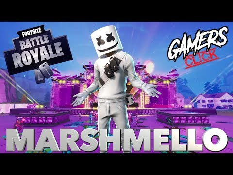 Gamers Click reacts to the Fortnite Marshmello Event! (Concert in Pleasant Park) Mp3