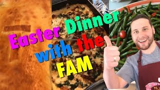 Ronnie Cooks Easter Dinner TOTALLY All By Himself (feat. Smelties and Aunt Lisa)