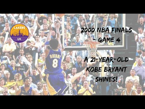 2000 NBA Finals, Los Angeles Lakers vs Indiana Pacers - Game 4 (A 21-year-old Kobe Bryant shines!)