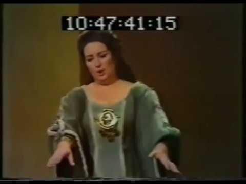 Bellini norma casta diva ah bello a me ritorna montserrat caball youtube - Norma casta diva bellini ...