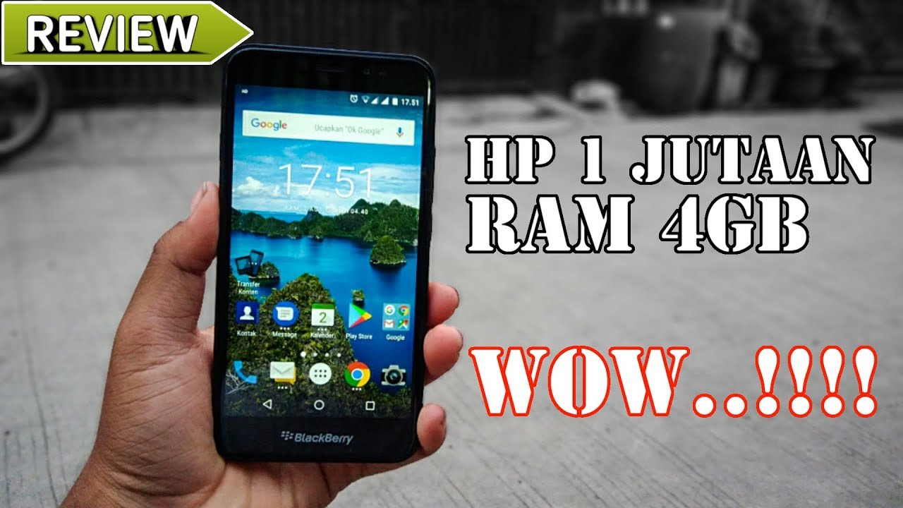 Review Blackberry Aurora 2018 Hp 1 Jutaan Ram 4gb Youtube