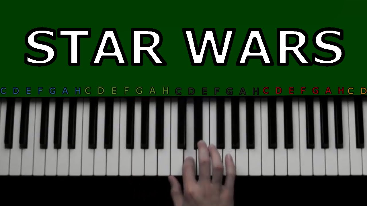 Star Wars Piano Tutorial